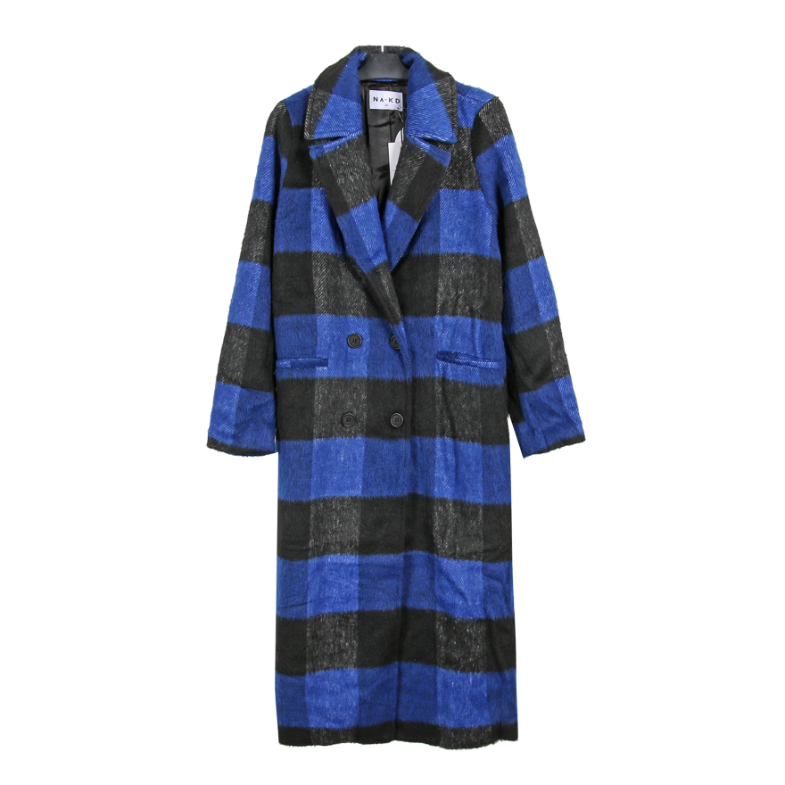 NA-KD Outlet Blue Coat
