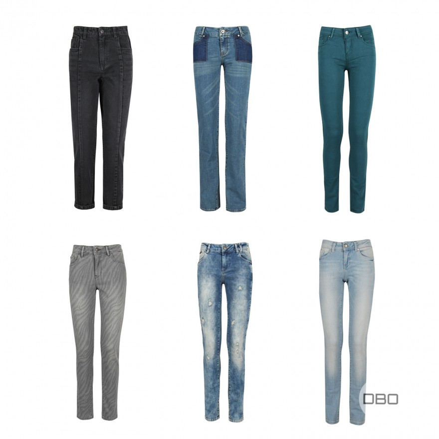exBonobo Trousers Woman Mix