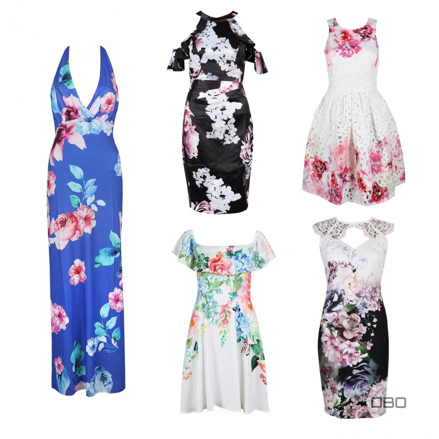 UK Brands Floral Dresses Mix