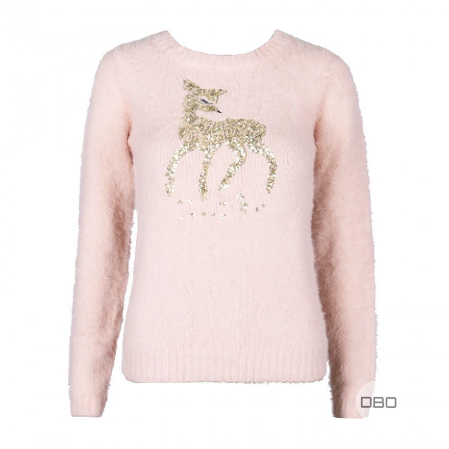 exLipsy Deer Eyelash Jumper