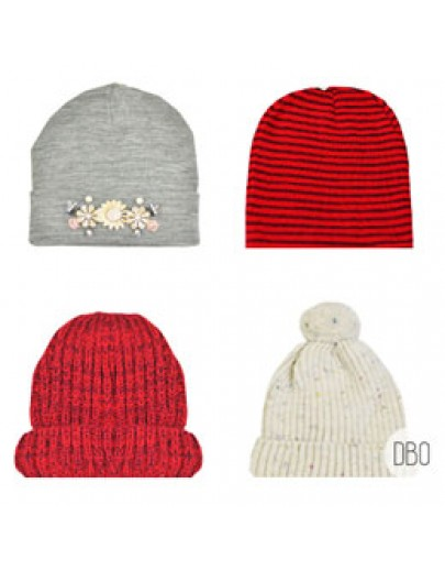 River Island & Urban Outfitters Knit Caps Mix