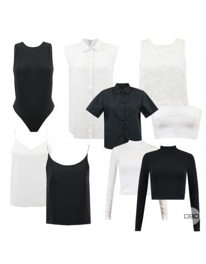 ExAsos Black & White Essentials