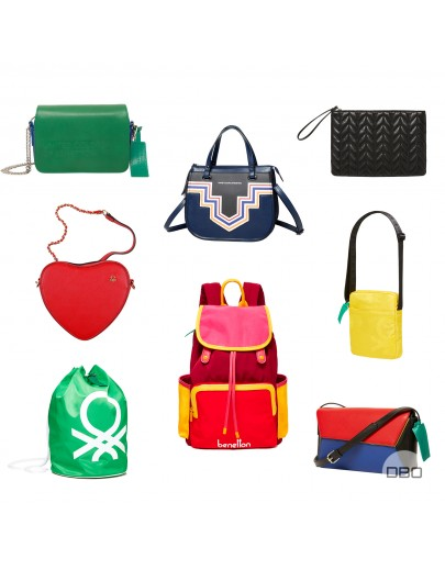 exBENETTON BAGS MIX