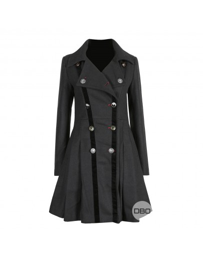 UK Brand Black Coat