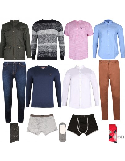 exMilano & exSpringfield Clothing Mix for Him