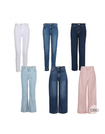NA-KD Trousers Ladies Mix
