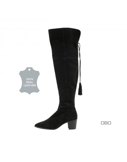 Black high boots exOffice