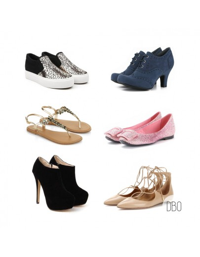 All Seasons Shoes Mix