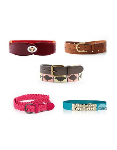 Multibrand Women's Belts Mix