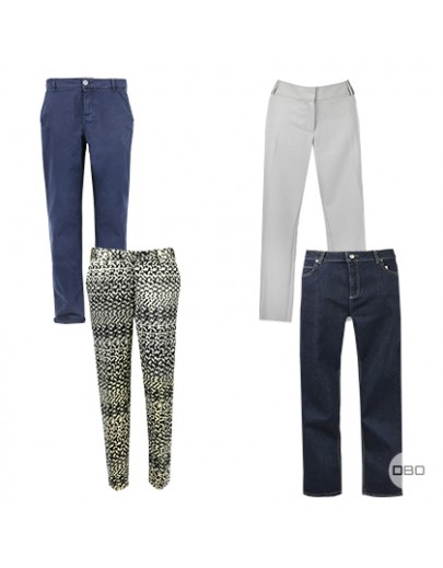 Designer Women's Trousers Mix