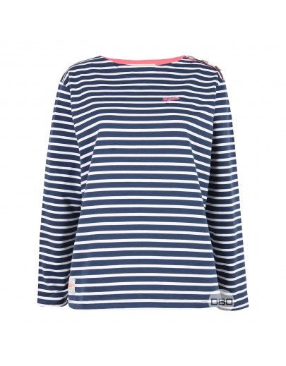 ExBrakeburn Stripe Long Sleeve T-Shirt