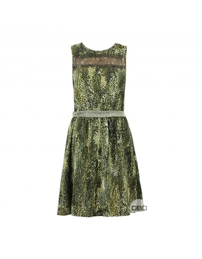 ExMorgan Snake Print Dress