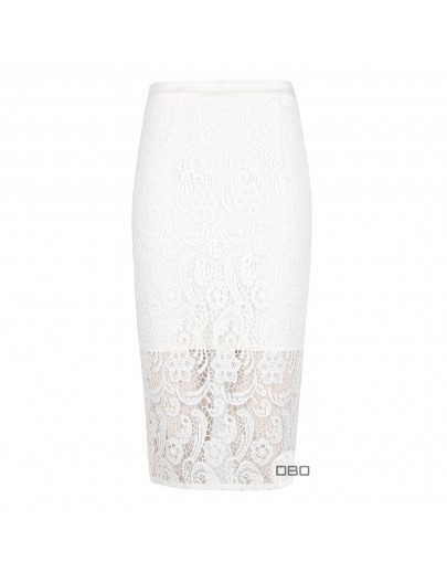ExForever New Lace Pencil Skirt