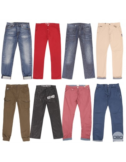 Mix of men's trousers
