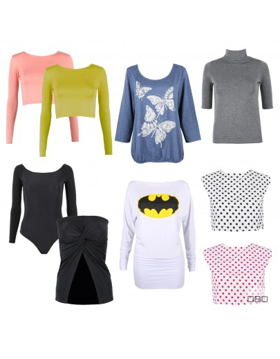 Womens Tops by Boohoo