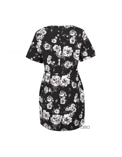 Floral Printed Dress by ExPit Amsterdam
