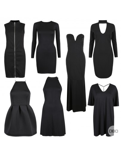 Missguided Chic Black Dresses Mix