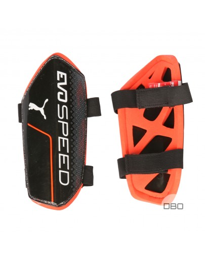Puma Black&Red Football Protectors for Kids