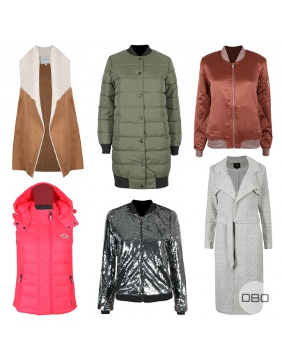 ExLipsy Mix of A/W Jackets and Coats