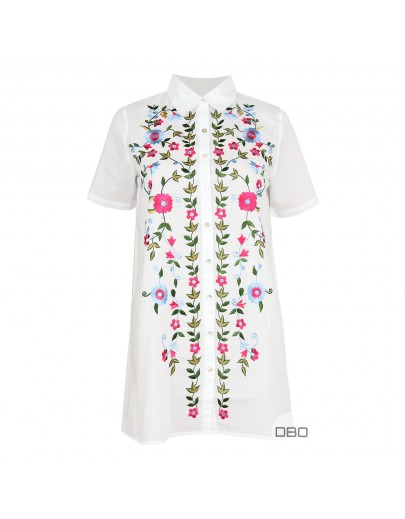 A&G Shirt With Flowers