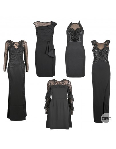 UK Brand Black Dresses