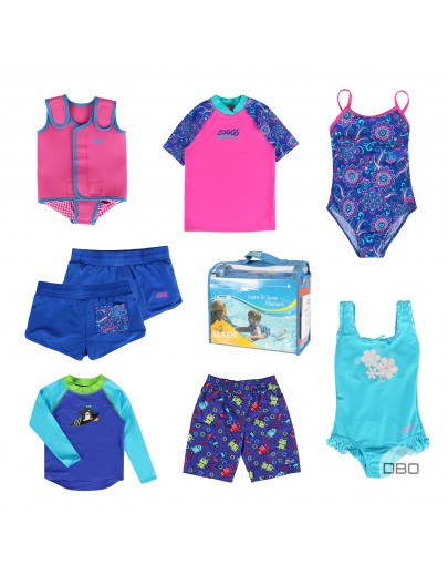 exZoggs Kids Swimwear