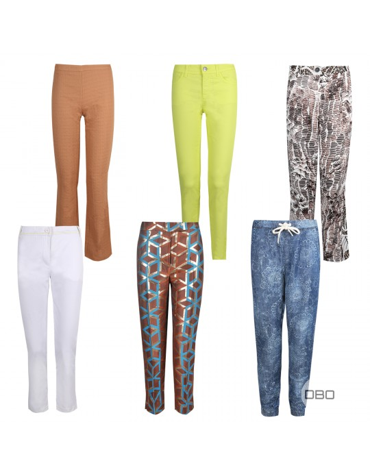 exBenetton S/S Trousers Mix for Her