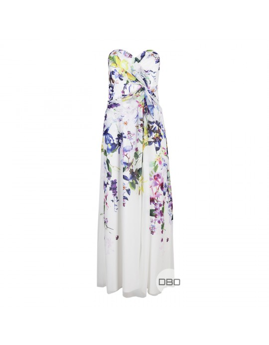 exLipsy VIP White Maxi Dress