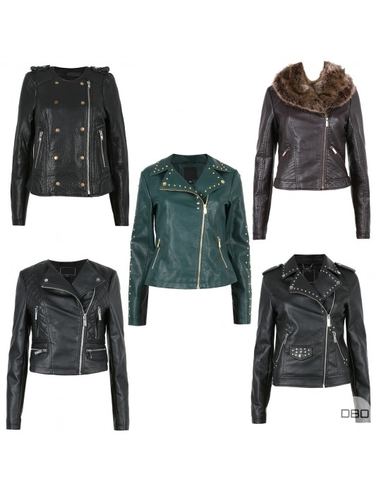 ExLipsy Leather Look Jackets Mix