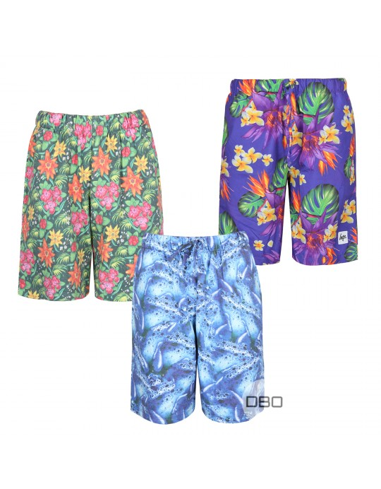 Hype Colorful Ladies Shorts Mix