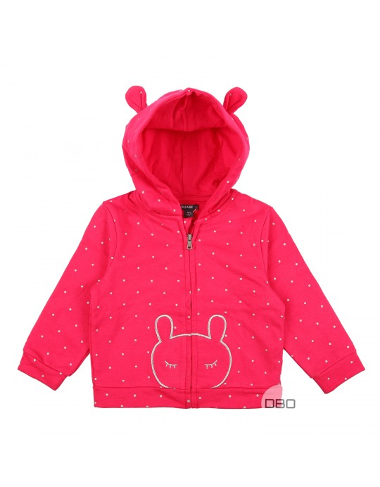 Pink Hoodie for Girl from exKiabi
