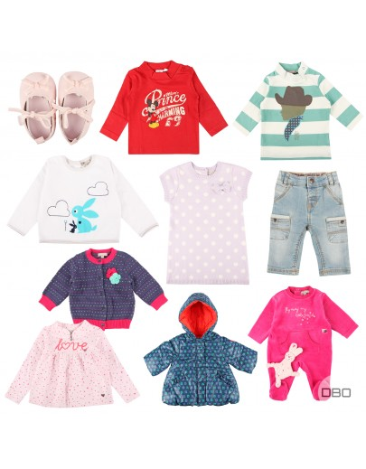 French Kids Clothing Mix