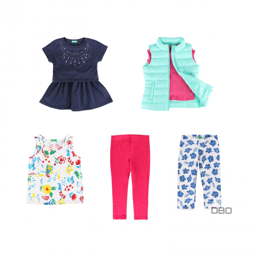 exBenetton Kids S/S Collection